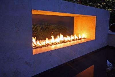 Pool Linear Fire Burners