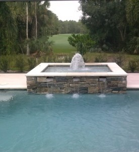 Water Features Contemporary Pools