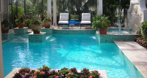 Contemporary pool contractor
