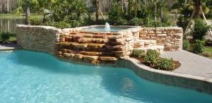 Contemporary pool contractor
