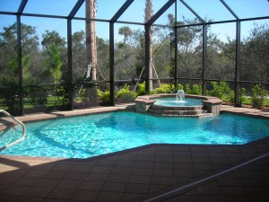 Geometric Pools in South West Florida