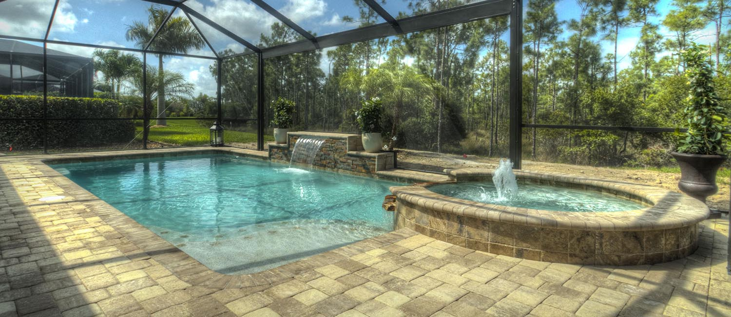 Pool design in ground pools cape coral contemporary pools for Pool design services