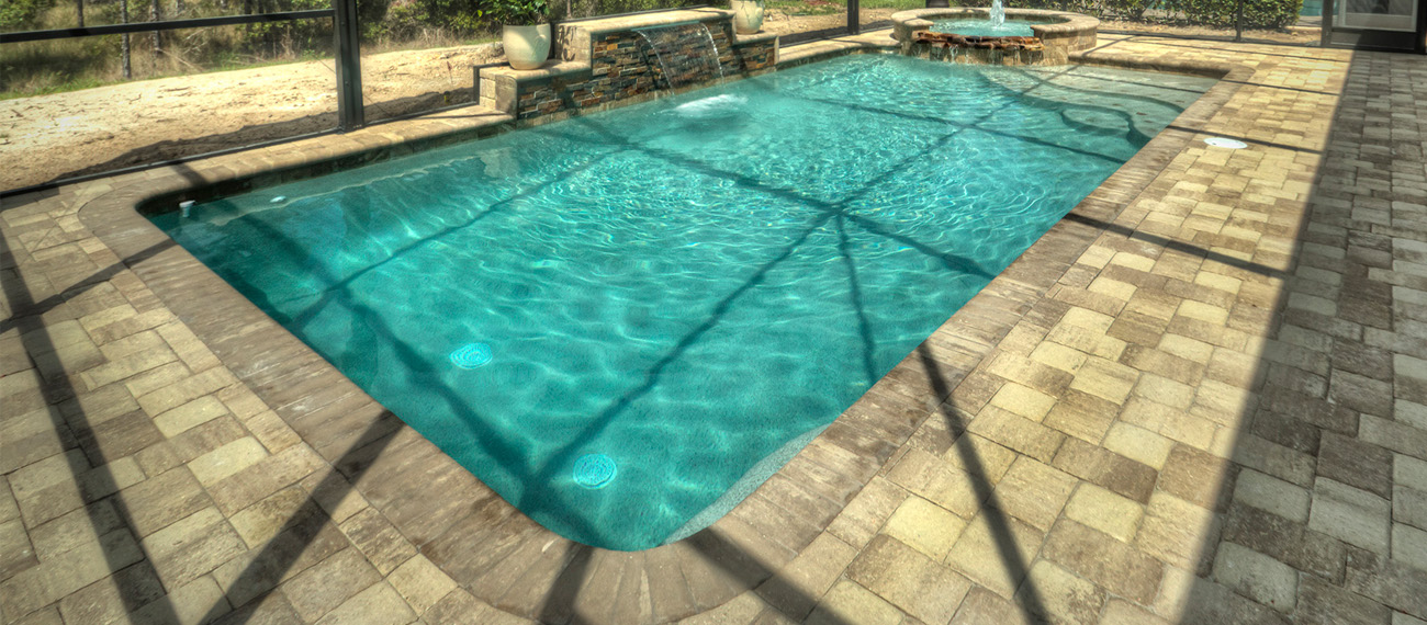 Pool Deck Paver Contemporary Pools